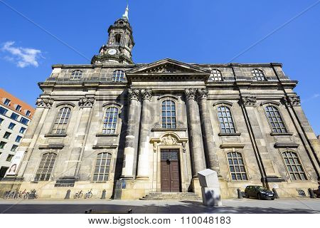 Dresden, Church Of The Holy Cross