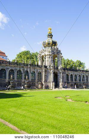 Dresden, Crown Gate Of Zwinger
