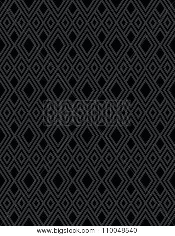 Black Diamond Pattern Background
