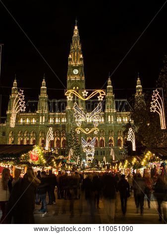 Vienna Christmas Markets At Rathaus
