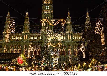 Vienna Christmas Markets At Rathaus