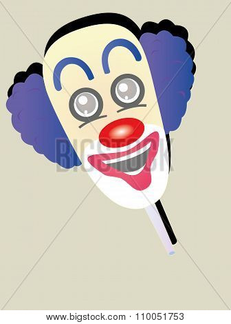 the funny face clown