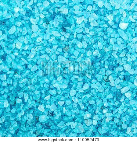 Blue Sea Salt Background