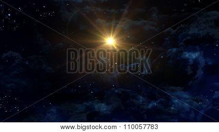 Starry Night Star Center