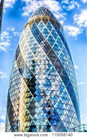 30 St Mary Axe Aka Gherkin Building, London