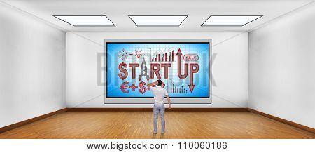 Plasma Tv With Start Up