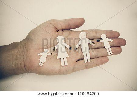 broken family concept