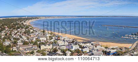 Provincetown, Massachusetts, Cape Cod city view