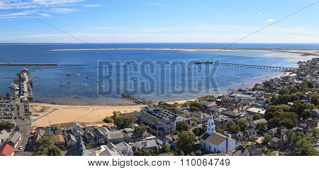 Provincetown, Massachusetts, Cape Cod city view