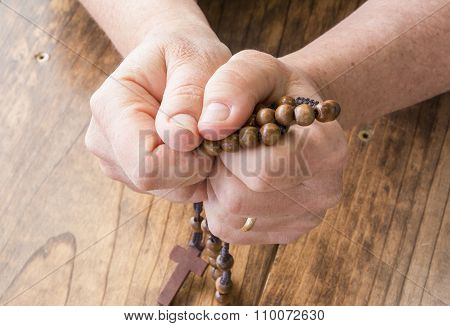 Woman With Rosary Beads
