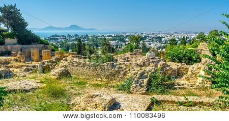 Panoramic View Of Carthage