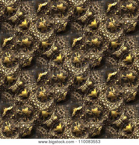 Alligator Skin Seamless Background