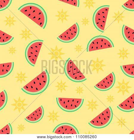 Summer & watermelon