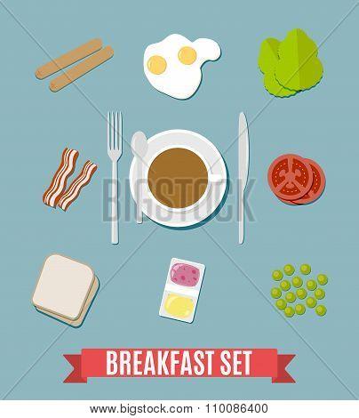 Breakfast small set.