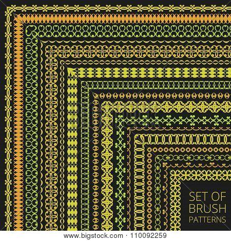 Luxury Pattern Brushes Set