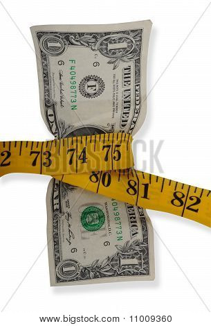 Measuring the dollar.