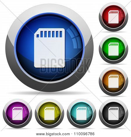 Memory Card Button Set