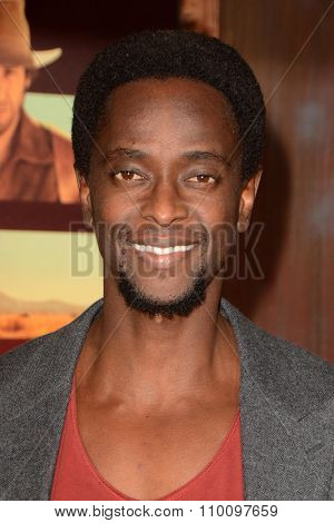 LOS ANGELES - NOV 30:  Edi Gathegi at the