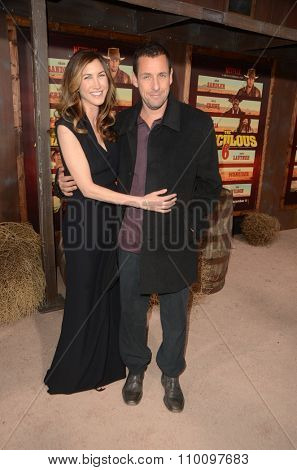 LOS ANGELES - NOV 30:  Jackie Sandler, Adam Sandler at the