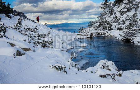 Winter Landscape -  Pirin Mountain, Bulgaria.