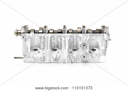 Engine Block Opened, Front View.