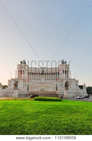 Monument of Victor Emmanuel II, Rome, Italy