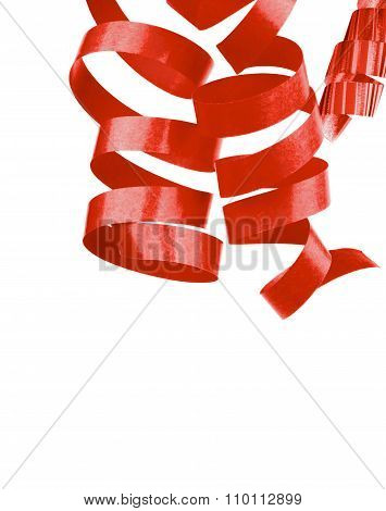 Red Party Streamers