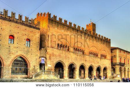 Palazzo Dell'arengo On Piazza Cavour In Rimini - Italy