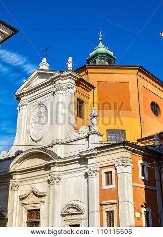Santa Maria Del Suffragio Church In Ravenna