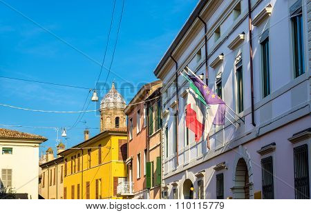 Buildings In The Historic Centre Of Ravenna - Italy