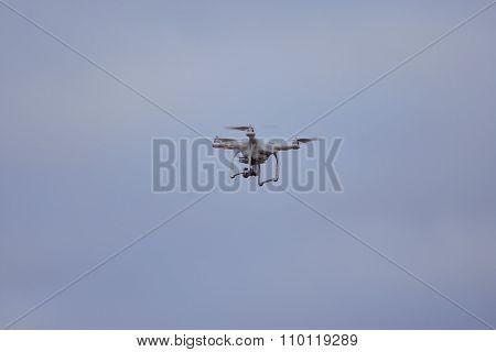 A Quad Copter Spy Drone