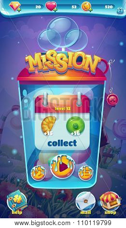 Sweet World Mobile Gui Mission Collect Window