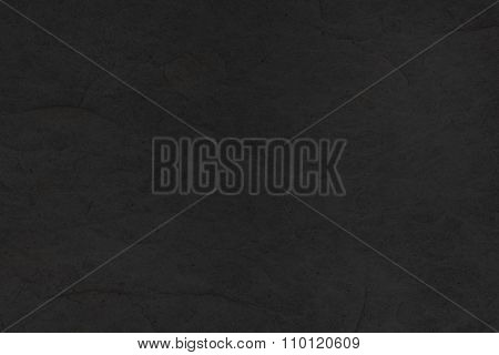 Black Slate Stone Tile Background - Granite Texture Closeup