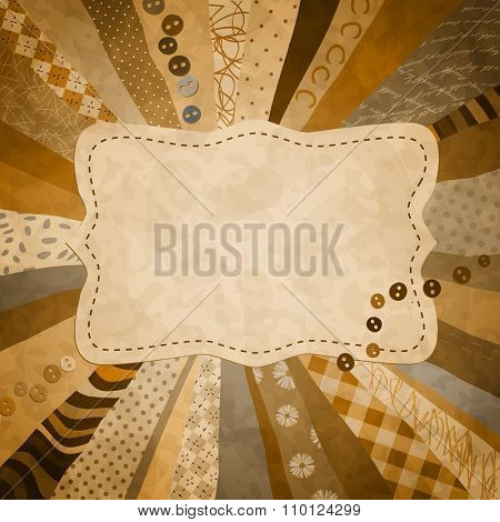 background with pieces of cloth for your photos