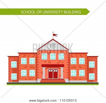 School or university building.