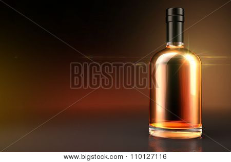 Generic Alcohol Bottle