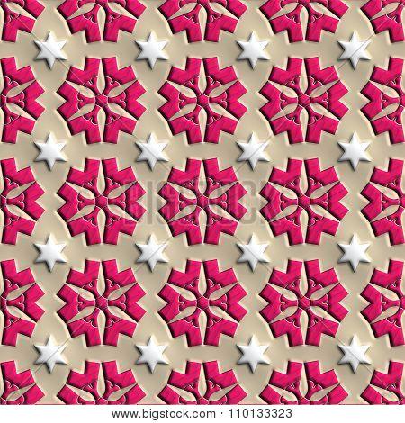 Plastic seamless background tiles