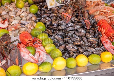 fresh sea food