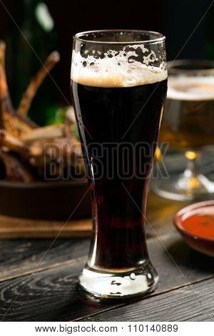 Glass Of Porter Beer