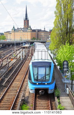 Light railway in Stockholm, Sweden