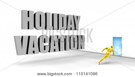 Holiday Vacation as a Fast Track Direct Express Path