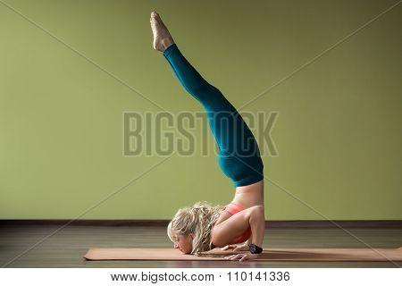 Fierce Bird Yoga Pose