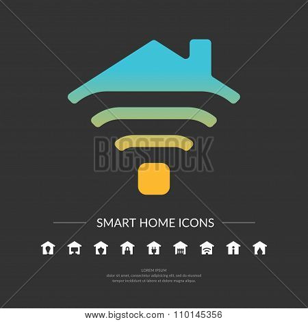 Smart Home Icons.