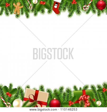 Merry Christmas Borders