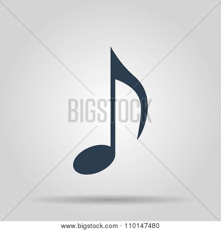 Music Note Icon - Vector