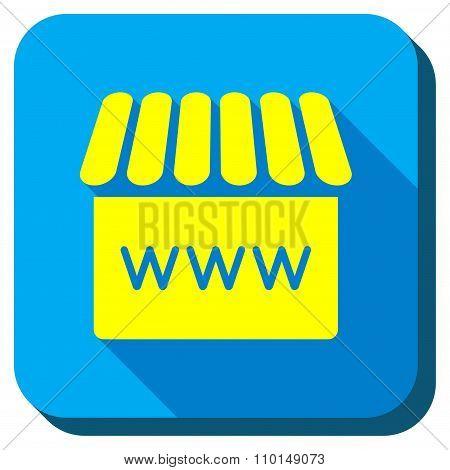Webshop Longshadow Icon