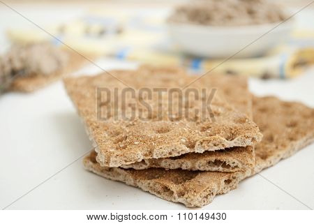 Photo of Fresh pate on bread