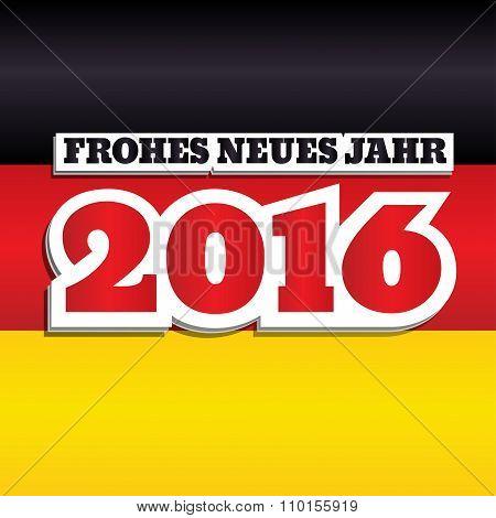 German Flag 2016