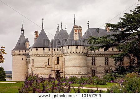 Chateau De Chaumont-sur-loire, France, Castle Is Located In The Loire Valley