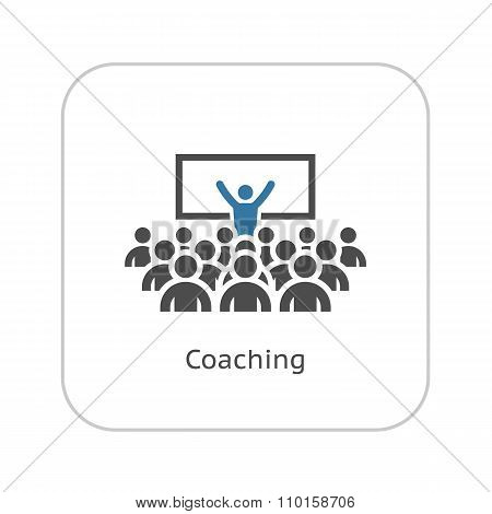 Coaching Icon. Business Concept.